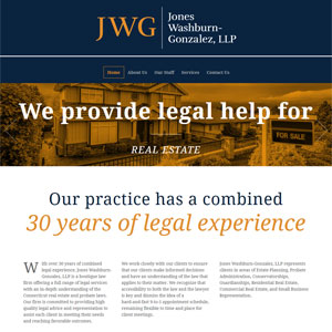 Jones Washburn-Gonzalez, LLP